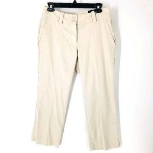 Nike Golf Womens Pants 4 Cream Modern Rise Crops